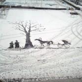雪アート☆